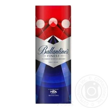 Віскі Ballantine's Finest 40% 0,7л - купити, ціни на МегаМаркет - фото 1