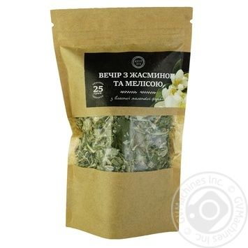 Evening Tea with jasmine and lemon balm 25g - buy, prices for Auchan - photo 1