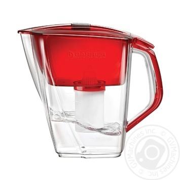 Фільтр-глечик для води Бар'єр Гранд нео рубін 4,2л - купити, ціни на МегаМаркет - фото 1