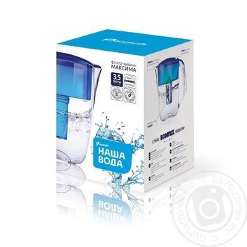 Фільтр-кувшин Наша Вода Максима синій 5л - купити, ціни на МегаМаркет - фото 2