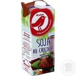 Напиток Ашан соевый с шоколадом 1л