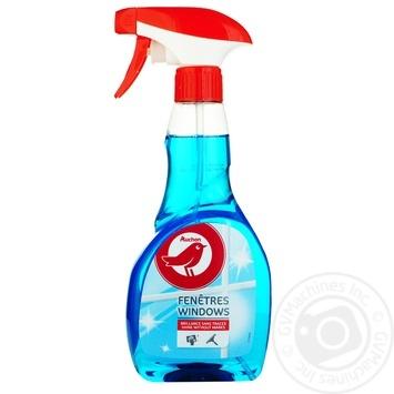 Средство Ашан для мытья окон и стеклянных поверхностей 500мл - купить, цены на Ашан - фото 1