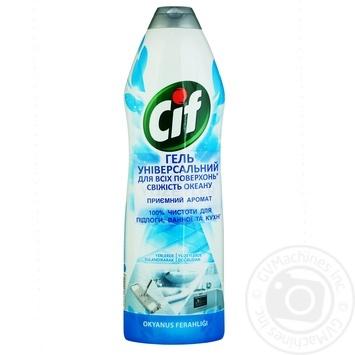 Крем для чистки Cif свежесть океана 750мл - купить, цены на Метро - фото 1