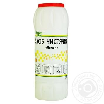 Чистящее средство Кожен День Лимон универсальный 500г - купить, цены на Ашан - фото 1