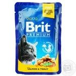 Food Brit trout canned for pets 100g