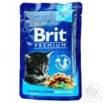 Brit Premium Food for kittens with chicken 100g