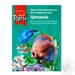 Корм сухой Topsi Артемия натуральный для аквариумных рыб 5г