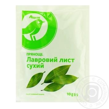 Лист лавровый Ашан сухой 10г - купить, цены на Ашан - фото 1
