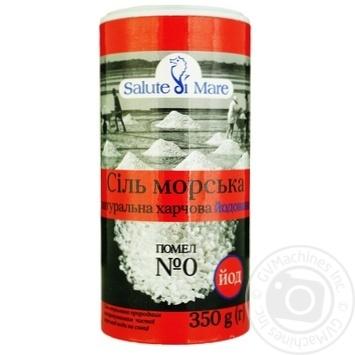 Salute di mare iodized sea salt 350g - buy, prices for MegaMarket - image 1