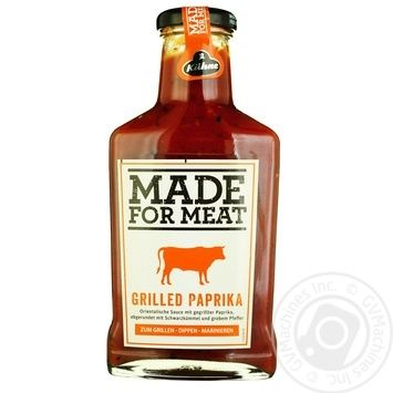 Kuhne Grilled paprika for meat sauce 375ml - buy, prices for Novus - image 1