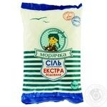 Сіль харчова Морячка йодована виварна 1кг - купити, ціни на Ашан - фото 1
