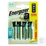 Energizer Max Battery AA 4pc