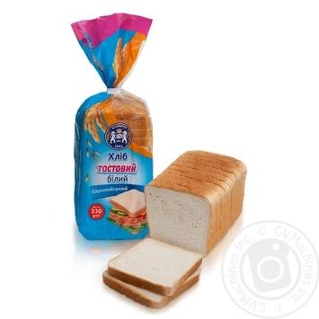 Хлеб Кулиничи Европейский тостовый белый 330г - купить, цены на МегаМаркет - фото 1