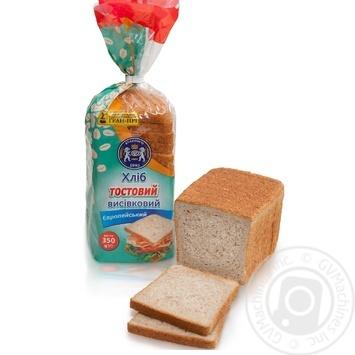 Kulinichi European bread toast bran 350g - buy, prices for MegaMarket - image 1