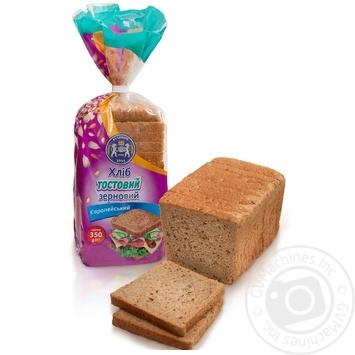 Kulinichi European bread toast grain 350g - buy, prices for Furshet - image 1