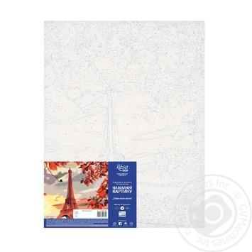 Картина по номерам Rosa Start Эйфелева башня 35*45см - купить, цены на Ашан - фото 3