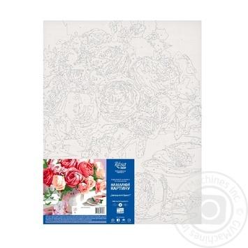 Картина по номерам Rosa Start Душистый букет 35*45см - купить, цены на Ашан - фото 2