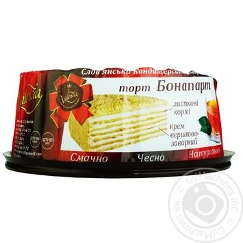 Торт Valencia Бонапарт 1кг - купить, цены на Таврия В - фото 1