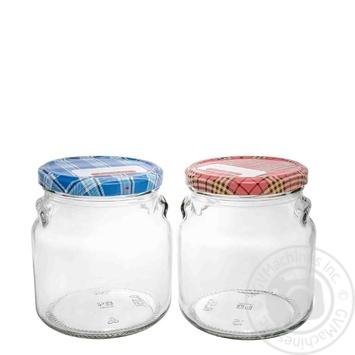 Банка Everglass скляна з металевою кришкою 550мл Україна - купити, ціни на Ашан - фото 1