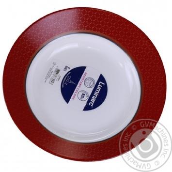Тарелка Luminarc Soen глубокая 22см - купить, цены на Ашан - фото 2