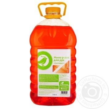Auchan Grapefruit liquid soap for hands 4,5 kg - buy, prices for Auchan - image 1