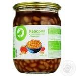 Auchan Spicy beans in tomato sauce 540g