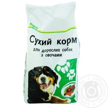 Сухой корм Каждый день для взрослых собак с овощами 2.5кг - купить, цены на Ашан - фото 1