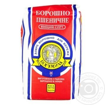Борошно Богумила пшеничне вищий сорт 2кг - купити, ціни на Метро - фото 1