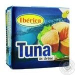 Fish tuna Iberica canned 160g - buy, prices for Novus - image 1