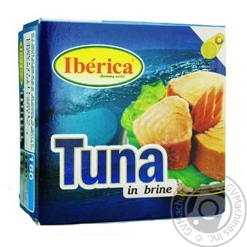 Тунец Иберика в собственном соку 160г - купить, цены на Novus - фото 1