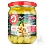Auchan Firm Bean white sterilized 470g - buy, prices for Auchan - photo 1
