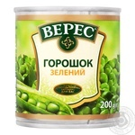 Veres Green Peas 200g - buy, prices for MegaMarket - image 1