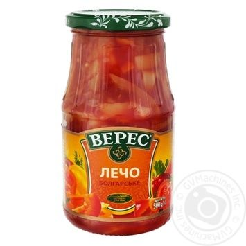 Veres Bulgarian In Tomato Sauce Lecho 530g - buy, prices for Metro - image 1