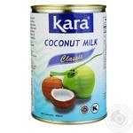 Кокосовое молоко Kara Classic 17% 425мл