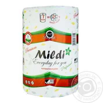 Полотенце бумажное Mildi 100м - купить, цены на Novus - фото 1