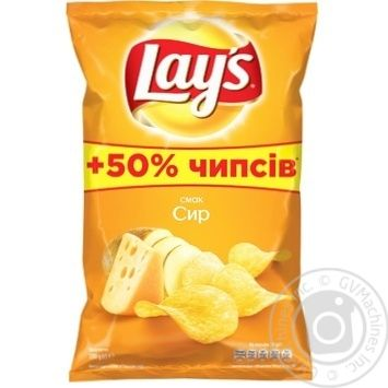 Чипсы Lay's со вкусом сыра 200г