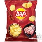 Чіпси Lay's зі смаком бекону 71г