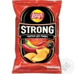 Lay's Strong potato chips with chili and lime flavor 120g