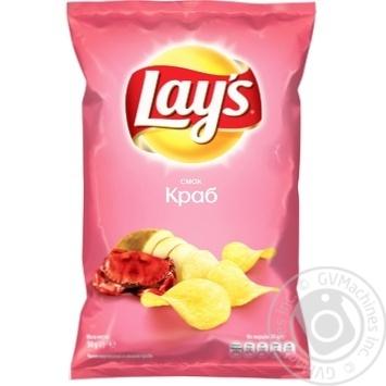 Чипсы Lay's со вкусом краба 30г - купить, цены на Novus - фото 1