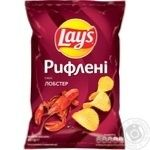 Lay's Ridged Lobster Flavored Potato Chips 133g