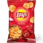 Чипсы картофельные Lay's со вкусом паприки 133г