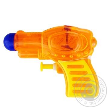 Пистолет One Two Fun водный 11см - купить, цены на Ашан - фото 1