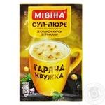 Mivina Garyacha kruzhka ready-to-cook with croutons soup 12g