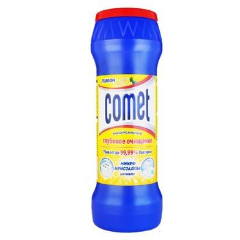 Порошок Comet Лимон Двойной эффект чистящий универсальный 475г - купить, цены на Фуршет - фото 3