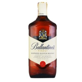 Віскі Ballantine's Finest 40% 1л - купити, ціни на МегаМаркет - фото 1