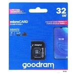 Карта пам'яті Goodram 32GB microSDHC Class 10