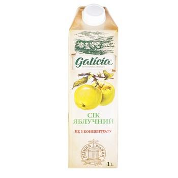 Сок Galicia яблочный 1л - купить, цены на Метро - фото 1