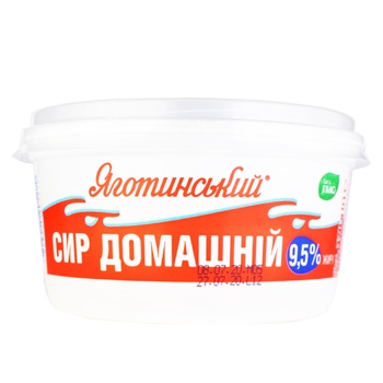Cottage cheese Yagotynsky Homemade 9.5% 370g - buy, prices for Novus - image 4