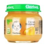 Пюре фруктовое Гербер груши Вильямс для детей с 4 месяцев 80г