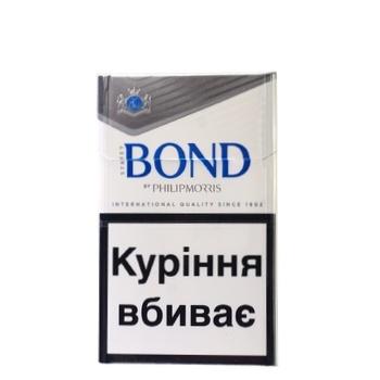 Сигареты Bond Street Silver Selection - купить, цены на Метро - фото 1